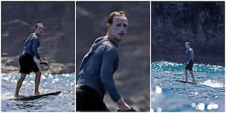 Facebook Boss Mark Zuckerberg Reacts to Viral Pictures that Caught him Covered in Sunscreens