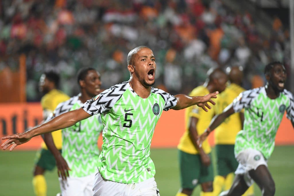 Ekong listed among Nigeria's Super Eagles 4 best players against South Africa