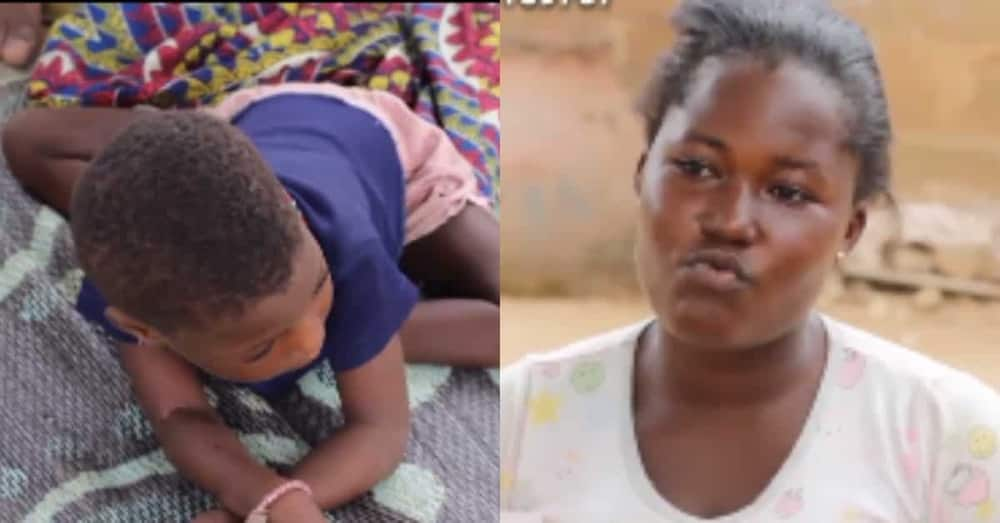 My child was normal till one day she started crying & became disabled - Ghanaian mum