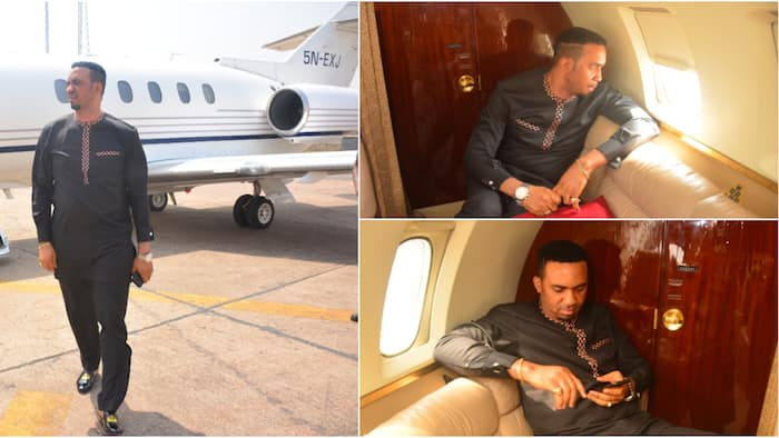 Pastor Chris Okafor allegedly acquires private jet (photos)