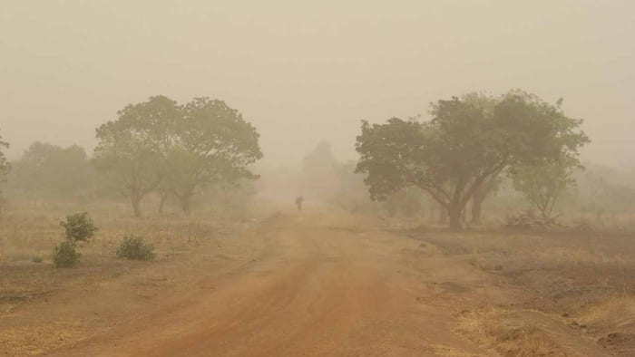 NiMet predicts dust hazy, partly cloudy weather for Sunday, January 20