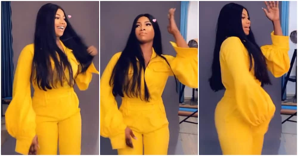 BBNaija's Tacha gets busy with Naira Marley's Soapy, rapper gushes over her