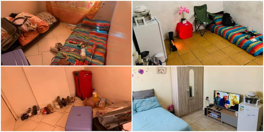 Lady Stuns the Internet with Her 'Humble' Room Transformation, Photos Inspire Many People