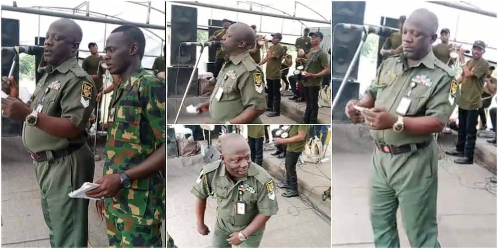 The soldiers wowed many on social media