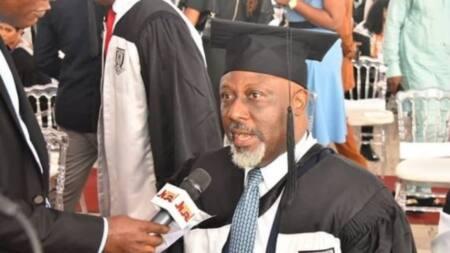 Dino Melaye emerged as best graduating student? Baze University finally reacts
