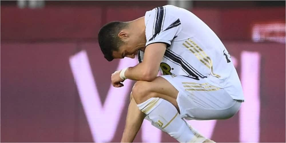 Disaster for Ronaldo as Juventus title race over after being held by Torino