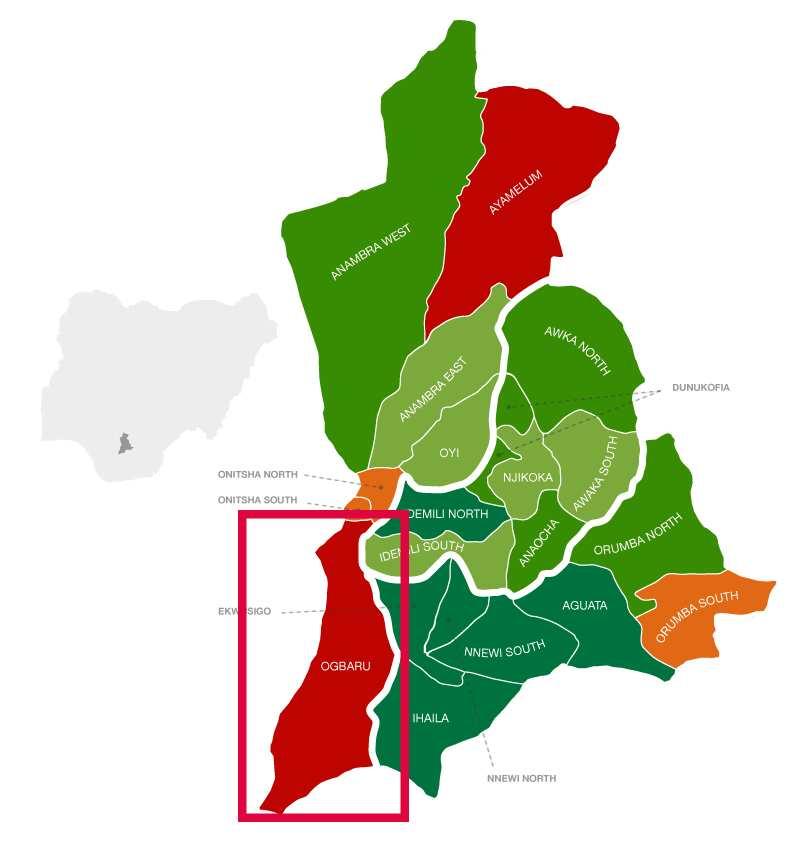 Ogbaru location