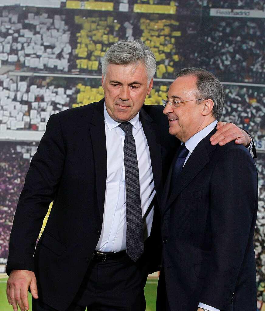 Real Madrid consider Carlo Ancelotti return with Zinedine Zidane close to Bernabeu exit