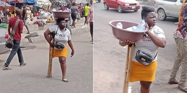 More Help for Amputee Pure Water Seller as Lagos Govt Takes over Her Case, Provides Accommodation