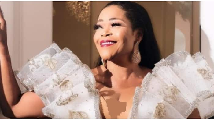 Nollywood actress Shaffy Bello is a dazzling belle in gorgeous birthday photos
