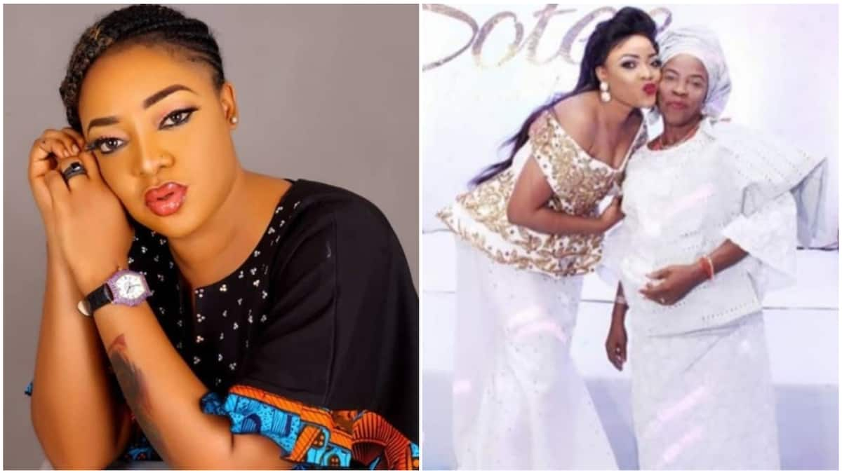 Tears as Nollywood actress Tayo Sobola loses mother