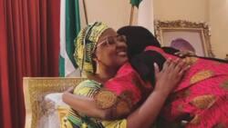 Coronavirus: 'Yar Buhari ta koma cikin ahlinta bayan kwanaki 14 a killace (hoto)