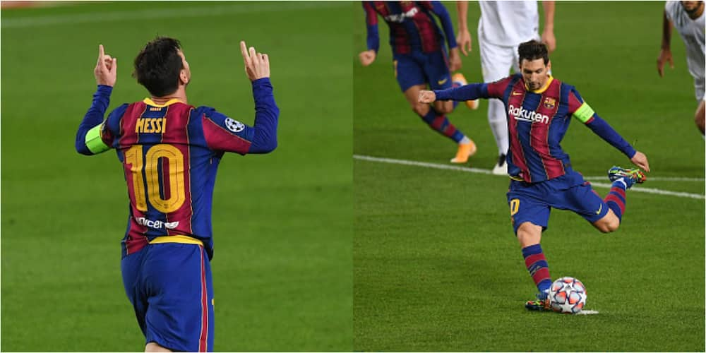 Lionel Messi becomes 1st player to score in 16 consecutive Champions League seasons