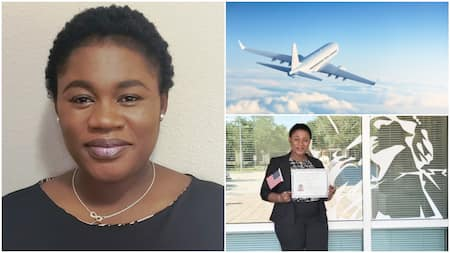 6 years after relocating to US, Nigerian lady becomes citizen, says she's looking for good job