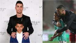 Ronaldo sends heartfelt message to son on his 11th birthday, posts photo of him flying his private jet