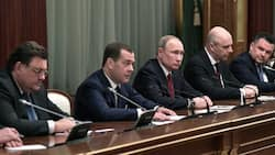 Entire Russian government resigns ahead of Vladimir Putin's massive constitutional shake-up