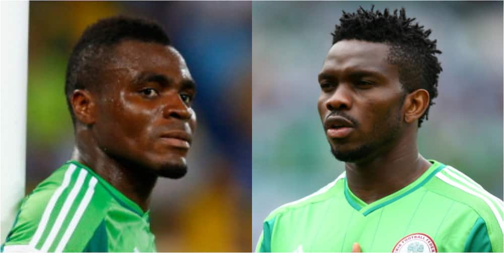 Video of Emenike 'ridiculing' Yobo on the pitch goes viral as he uses him to dance