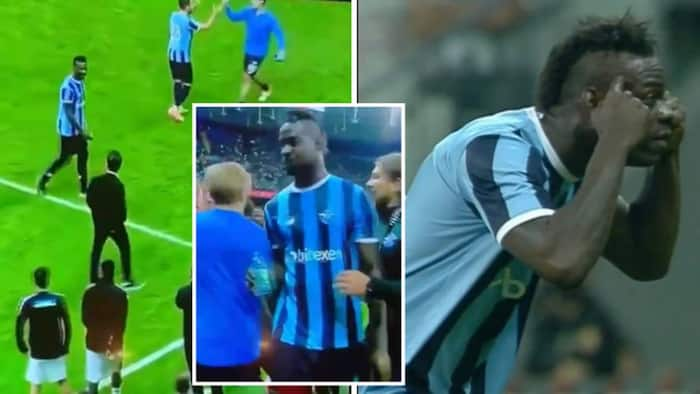 Balotelli scores superb goal, celebrates in front of coach who called him brainless in 2013 (moment captured on camera)