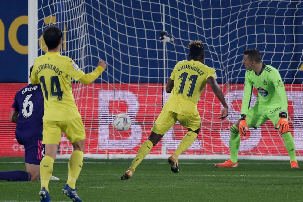 Samuel Chukwueze makes La Liga's Team of the Week after goal against Valladolid