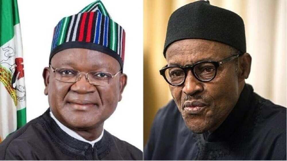 Fulani Buhari Ke Yi Wa Sharen Fage Domin Su Mamaye Nigeria, Ortom