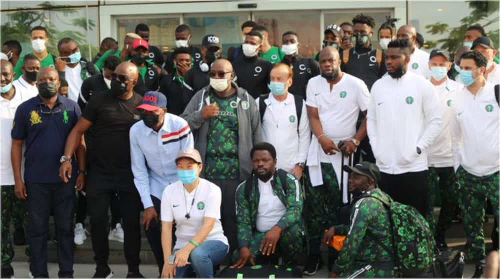 Tension for Benin Republic as Super Eagles land in Cotonou, ready for Squirrels cracker