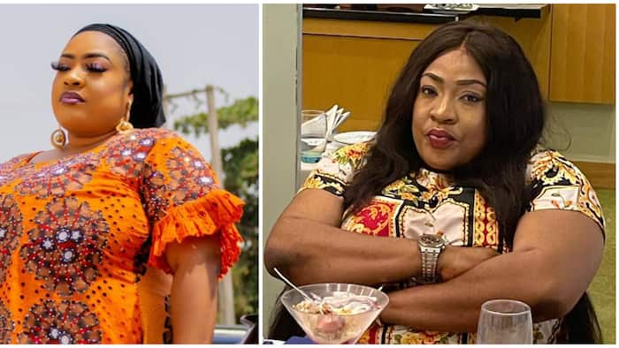 Foluke Daramola vows to stop taking care of old veterans, curses people saying she sleeps with producers