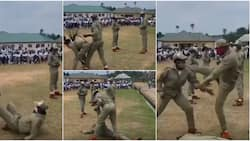 Video shows female corps members displaying amazing fighting skills as they combat & defeat male counterparts