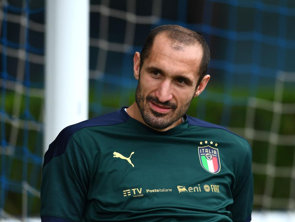 Giorgio Chiellini claims 'England's bench alone could win the Euros
