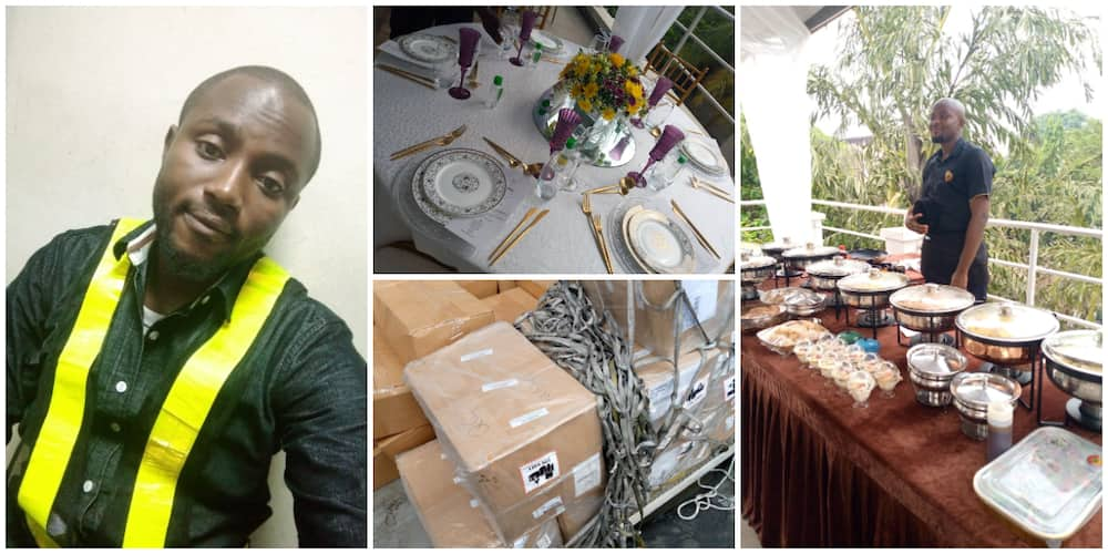 It Is Better to be Jack of All Trades, Nigerian Man Who Is a Waiter, Events Planner and Air-Cargo Agent Says