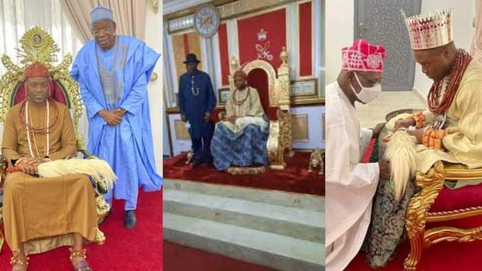 6 prominent Nigerians who have visited Olu of Warri after his ascension