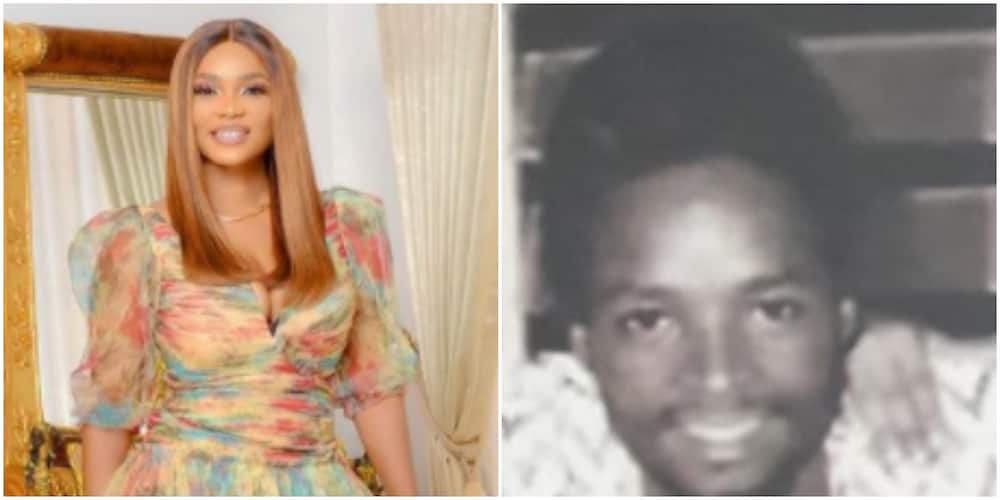 Iyabo Ojo shares throwback photo of her late dad, says she looks like him