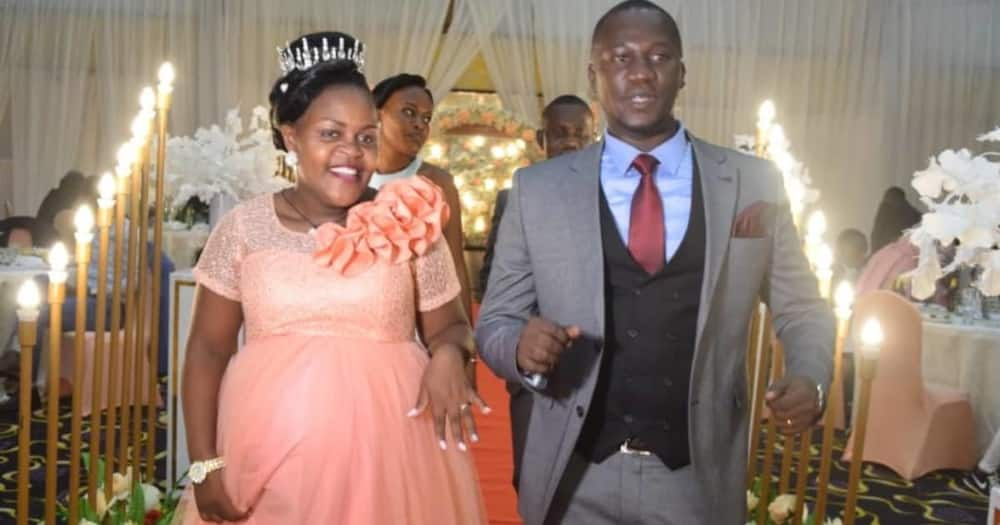 Woman says she prayed not to go into labour during her wedding day