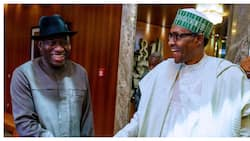 Tsohon Shugaba Jonathan ya sake ganawa da Buhari, sun yi kus-kus a fadar Aso Villa (Hotuna)