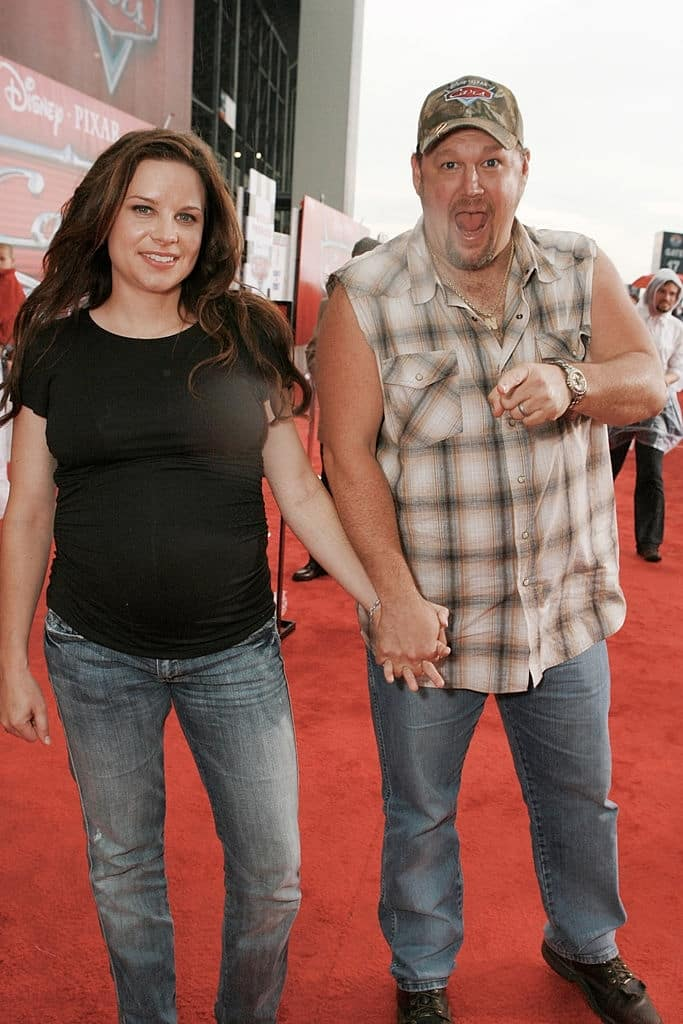 Larry the Cable Guy's wife