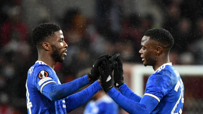 Iheanacho inspires Leicester City to crucial Europa League comeback win over Moses' Spartak Moscow