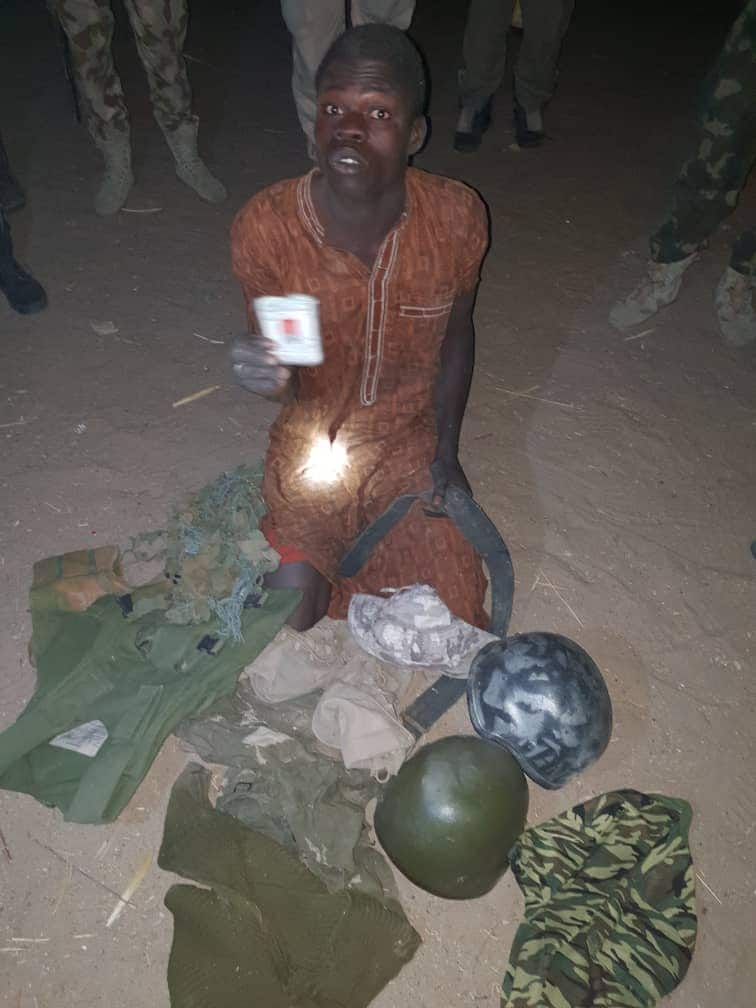 Troops arrest wanted Boko Haram terrorist (photo)