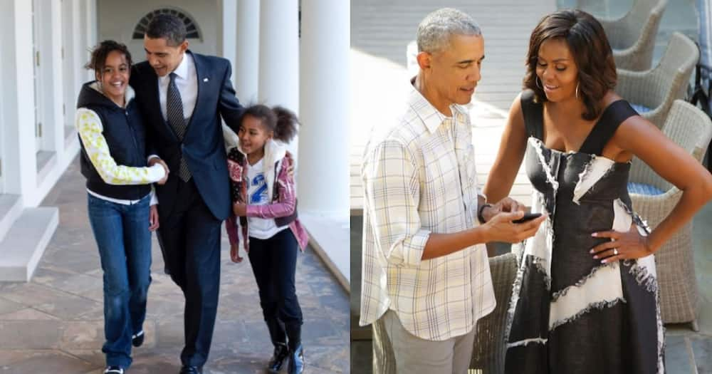 Barack Obama Thanks Wife Michelle for Making Him a Dad of 2 Great Girls