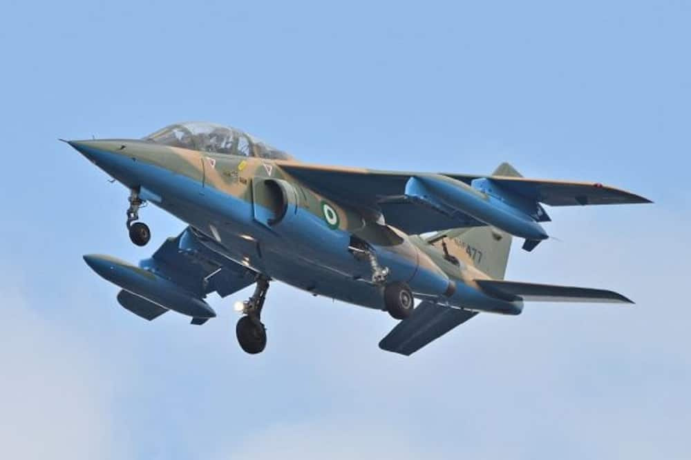 Insecurity: Military jets kill scores of bandits occupying forests in northern state