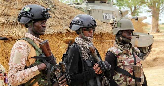 Soldiers battle bandits in Zamfara state