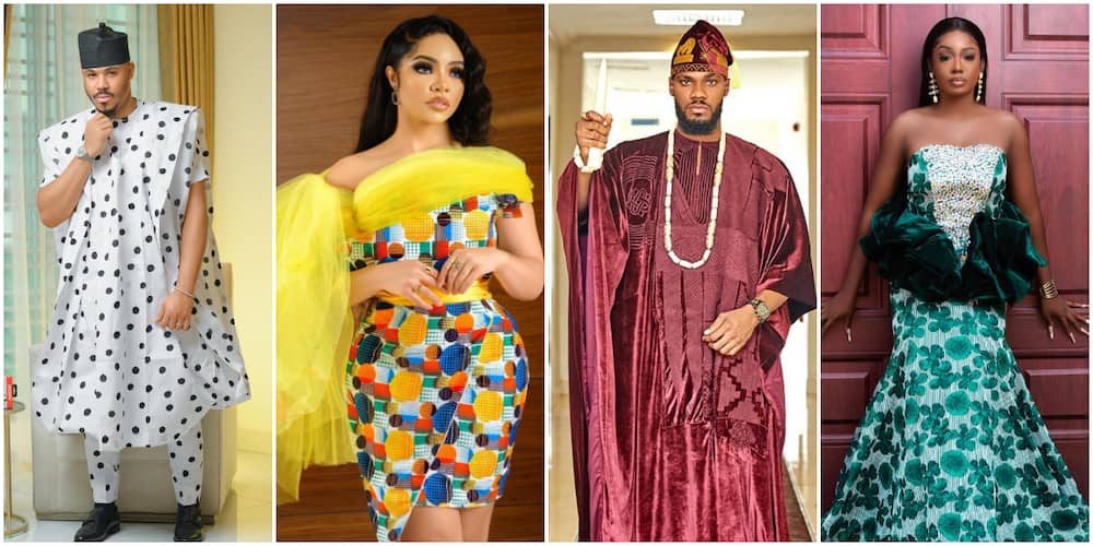 BBNaija slay in traditional outfits in for reunion show.