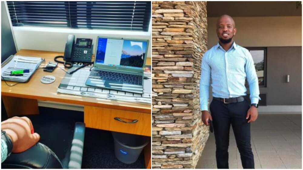 Man resumes at his new job, his photos get people talking