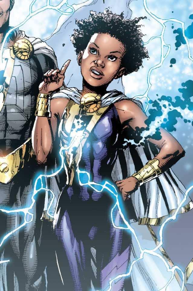 black female superheroes