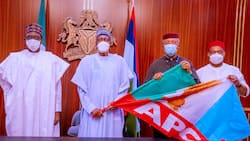 Just in: APGA reacts, reveals why Anambra deputy governor defects to APC