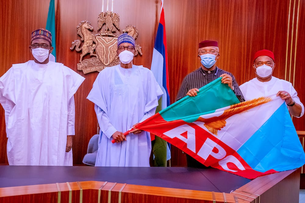 APGA Reacts to Anambra Deputy Governor's Defection to APC
