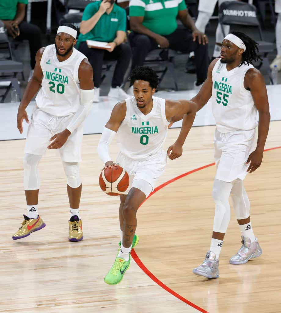 Nigeria's D'Tigers observe one minute silence for late Sound Sultan before Australia game