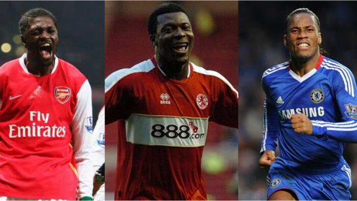 Super Eagles legend named among 50 all-time Premier League topscorers