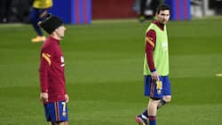 Angry Barcelona fans storm Camp Nou training ground, attacks striker over departure of Lionel Messi