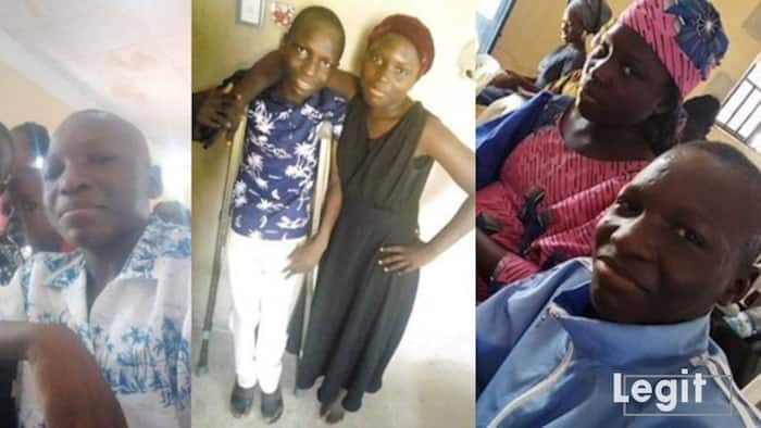 Clemency Bunu: Support 14-yr-old boy who begs on street after losing his parents to get wheelchair