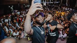 Davido hangs out with the city of intelligent Infinix X-family at arguably the best event of the year