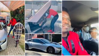 Man spoils his grandma on birthday, takes her for a ride in a N60.7m BMW sports car, video causes stir